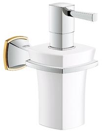 Image for Grohe Grandera Holder / Ceramic Soap Dispenser 40627IG0 Gold