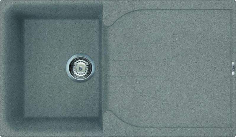 reginox elleci ego 400 granite kitchen sink titanium ego400 tt - Kitchen Sink Titanium
