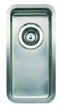 Image for Reginox Kansas 18x40 Integrated Stainless Steel Kitchen Sink