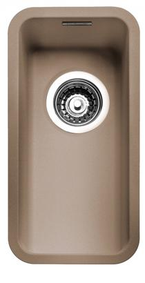 Image for Reginox Regi Color Ohio 18x40 Coloured Stainless Steel Integrated/Underbuild Kitchen Sink Sahara Sand OHIO18X40CS