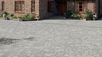 Image for Marshalls Drivesett Tegula Pennant Grey Concrete Block Paving 3 Size Project Pack - 9.73m2 per pack