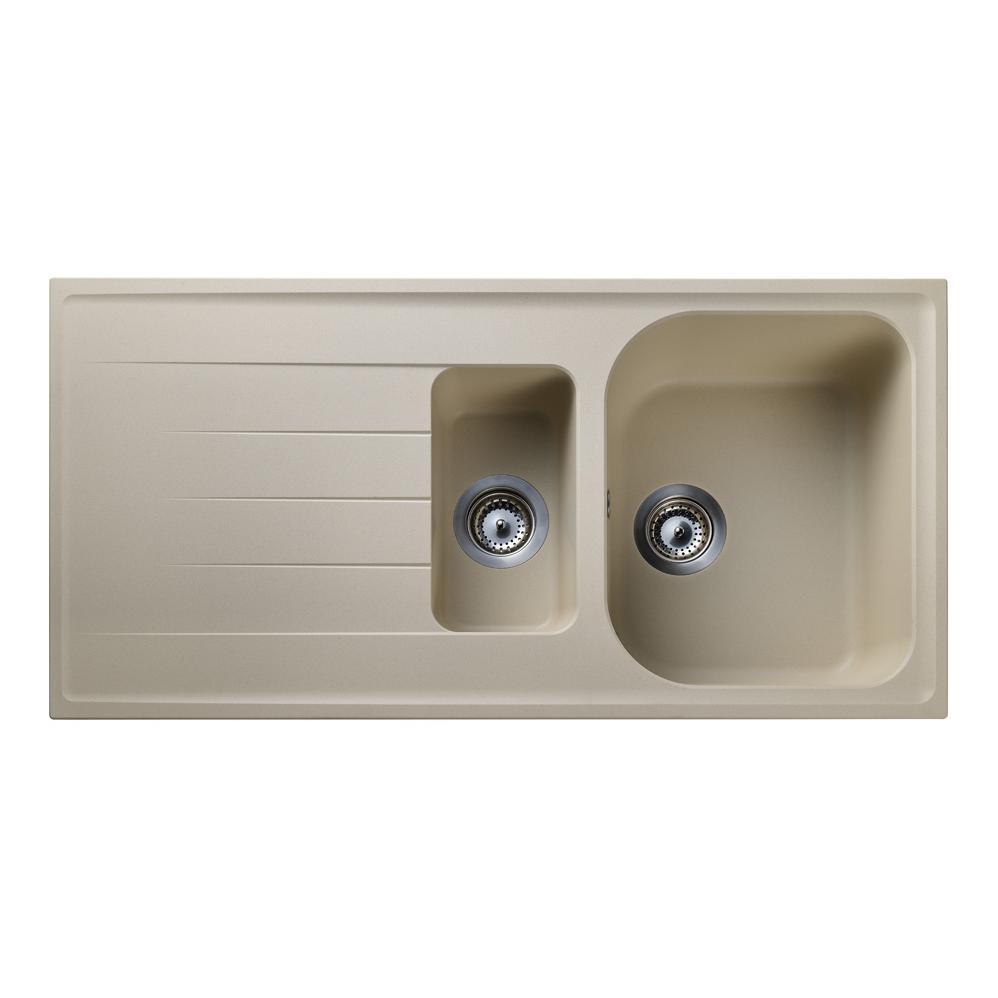 ... / Kitchen Sinks / Rangemaster Amethyst 1.5 Bowl Igneous Stone Sink