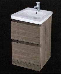 Image for RAK Manhattan Oak Wood Floor Standing Cabinet & 1TH Basin - 630mm