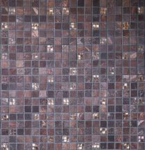 Image for RAK Wall Tile Saran Brown Mosaic 30 x 30cm