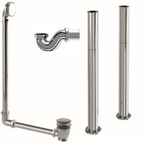 Image for Burlington Rolltop Bath Pack - Chrome Click waste