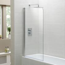 Image for April Single Bath Screen 1400 x 800mm