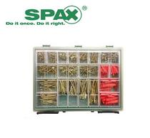 Image for SPAX Xpert Screw Plug Case RAACO Organiser 772 pcs