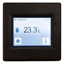 Image for Underfloor Heating Thermostat Touchscreen Black (16A)