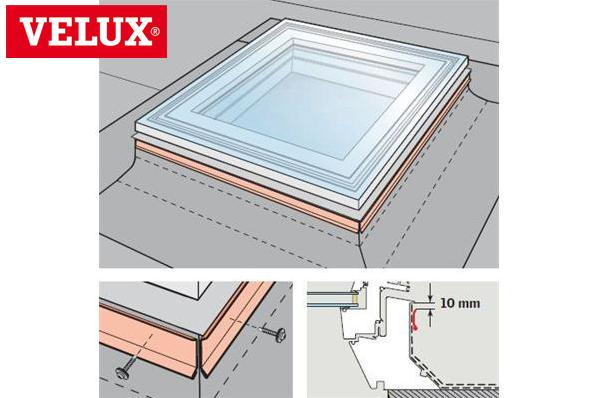 velux zzz 210 frame fixing kit 120x120 120120. Black Bedroom Furniture Sets. Home Design Ideas
