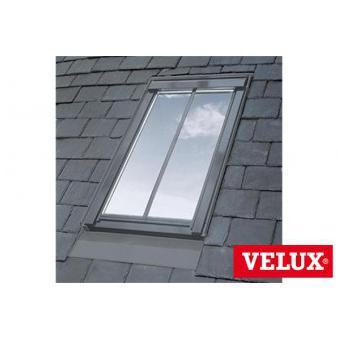 velux white painted ggl mk06 sd5n2 conservation window for 8mm slate 78cm x 118cm. Black Bedroom Furniture Sets. Home Design Ideas