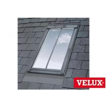 Image for VELUX White Painted GPL MK08 SD5N2 Top Hung Conservation Window for 8mm Slates - 78cm x 140cm