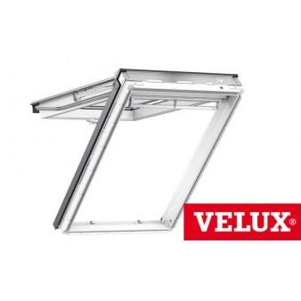 velux gpu 0060 white top hung window pk08 94 x 140 cm. Black Bedroom Furniture Sets. Home Design Ideas
