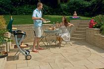 Image for Marshalls Heritage Yorkstone Garden Circle 2 Ring Pack