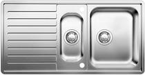 Image for BLANCO CLASSIC PRO 6 S-IF Stainless Steel Kitchen Sink & Tap Pack Reversible
