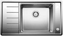Image for BLANCO ANDANO XL 6 S-IF Compact Stainless Steel Kitchen Sink & Tap Pack Left Hand Bowl