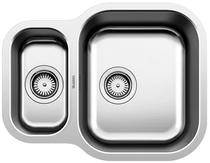 Image for BLANCO ESSENTIAL 530-U Stainless Steel Kitchen Sink Reversible BL453665