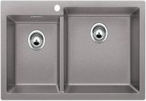 Image for BLANCO Kitchen Sink Pleon 9  Silgranit® Puradur®   - Alu Metallic
