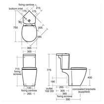 Image for Tavistock Kobe 700mm Freestanding Unit & Basin - White