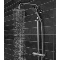 Image for Tavistock Quantum Thermostatic Diverter Bar Valve with Shower Head System