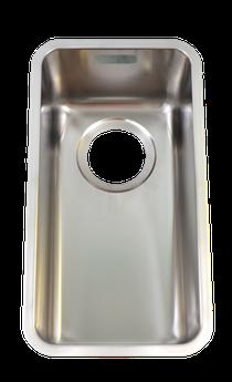 Image for Franke Kubus KBX 110 20 Stainless Steel Sink 112.0043.874