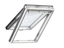 Image for Velux GPL 2070 White Painted Pine Top Hung Window SK10 (114 x 160m)