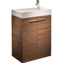 Image for Tavistock Kobe 560mm Freestanding Unit & Basin - Walnut