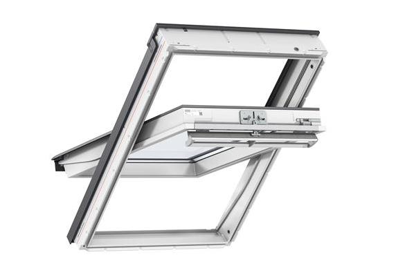 VELUX GGL 2070 CK02 55x78 White Painted Centre Pivot Roof Window