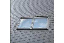 Image for VELUX EBL PK25 0021B Twin Combination Slate Flashing 94x55cm - 18mm Gap
