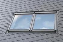 Image for VELUX EBL UK08 0021B Twin Combination Slate Flashing 134x140cm - 18mm Gap