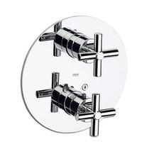 "Image for Roca Loft Chrome 1/2"" Built-In Thermostatic Bath Or Shower Mixer"