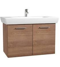 Image for Vitra S20 Vanity Unit & 1TH Basin 65cm - Golden Cherry