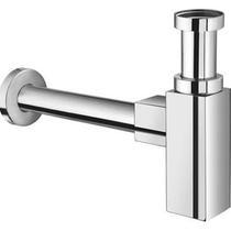 Image for Roca D50010010 Square Bottle Trap For Basin Or Bidet Chrome Plated