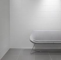Image for Studio Conran Trace Wall Tile Linea Flow Smoke Satin 248mm x 498mm 8 Per Pack - RAN00699