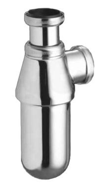 """Image for Ideal Standard Seal Bottle Trap 1.1/4"""" x 75mm Chrome Plated S8900AA"""
