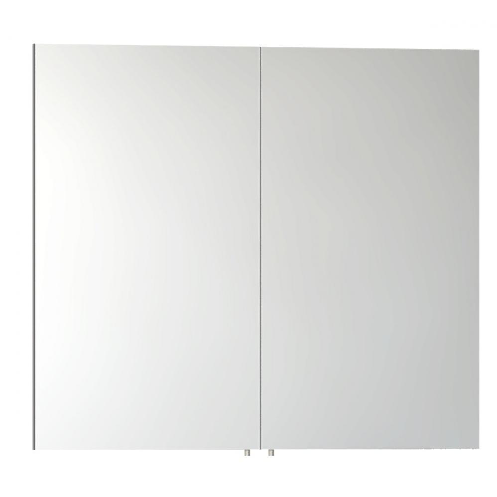 Vitra ecora 1000mm white bathroom mirror cabinet for Bathroom mirror cabinets 900mm and 1000mm