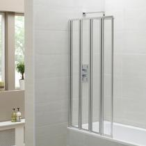Image for April Four Fold Bath Screen 1400 x 800mm