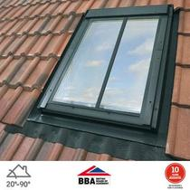 Image for VELUX GPL MK08 SD5J2 White Polyurethane (PUR) Top Hung Conservation Window for 90mm Tiles - 78cm x 140cm