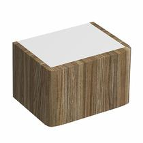 Image for Twyford E100 Plinth For 360mm Cabinet -Grey Ash Wood