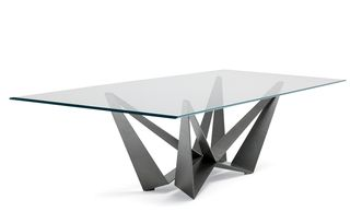Skorpio Glass Dining Table