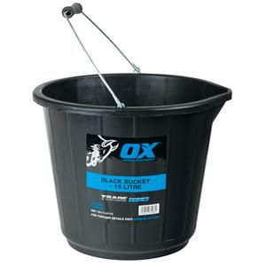 Image for TRADE 15L BLACK BUCKET