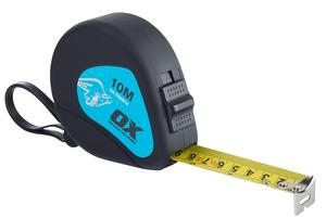 Image for OX Trade 10m Tape Measure