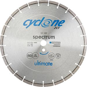 Image for ZCF CYCLONE ULTIMATE CONCRETE FLOORSAW DIAMOND BLADE