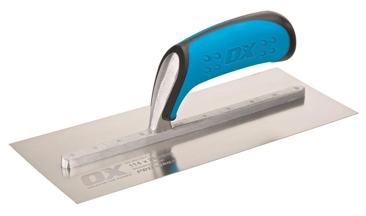 Image for PRO STAINLESS STEEL PLASTERERS TROWEL