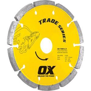 Image for OX Trade TMR Tuck Raking Diamond Blade