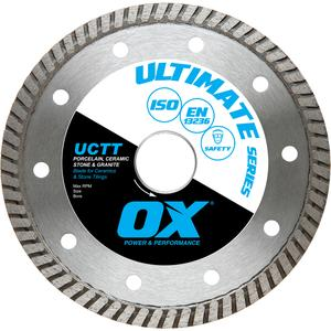 Image for OX Ultimate UCTT Thin Turbo Diamond Blade - Ceramics