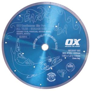Image for OX Ultimate UCT Cont. Rim Diamond Blade - Ceramics