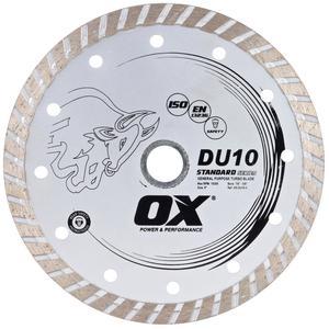 Image for OX DU10 Standard Turbo Gen. Purpose Diamond Blade