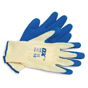 Image for OX Trade Latex Glass Gripper Glove