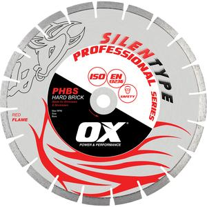 Image for OX Professional PHBS Silent Diamond Blade - Hard Brick