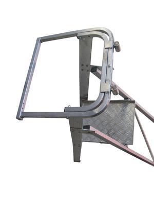 Image for OX Trade Platform Ladder Handrail & Safety gate set